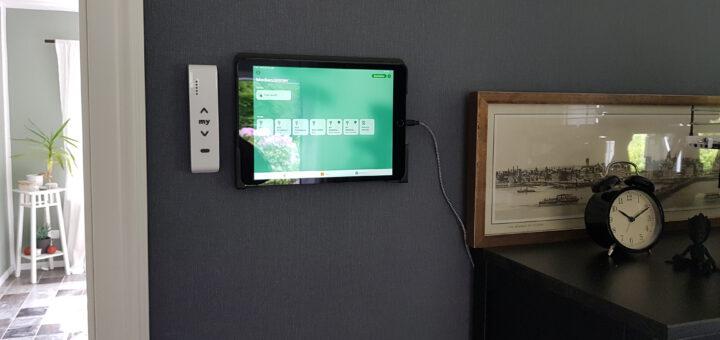 iPad Steuerzentrale mit Dockem Koala