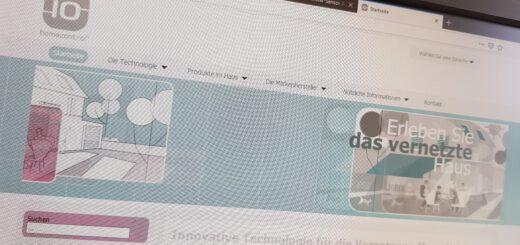 IO-Homecontrol Webseite