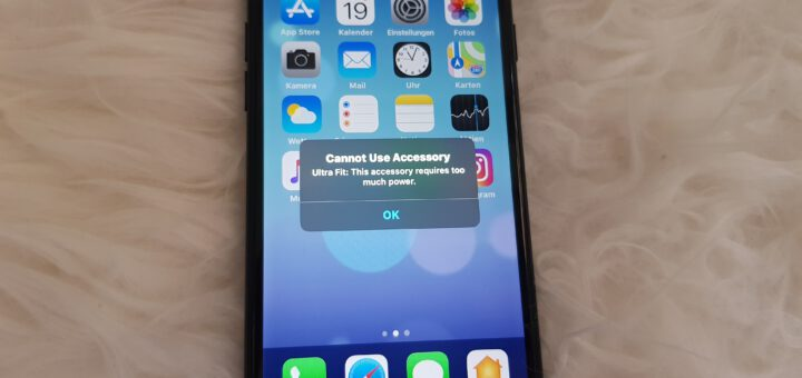 iOS13 Cannot use accessory