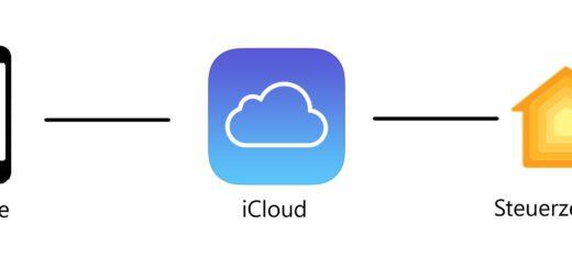 Fernzugriff über die iCloud