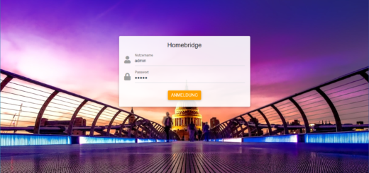 Homebridge auf Synology DIsk Station